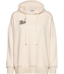 love hoodie hoodie trui crème by malina