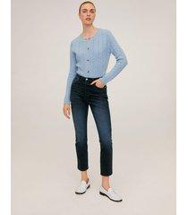 gisele high-waist slim jeans