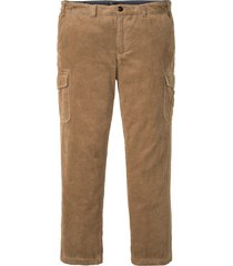 pantaloni cargo in velluto regular fit (beige) - bpc selection