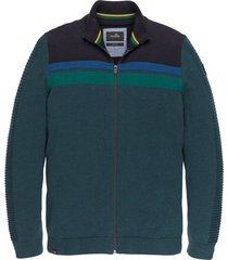 zip jacket cotton mouline