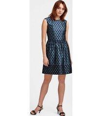 klänning big dot jaquard dress