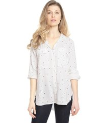 blusa gap crudo - calce holgado