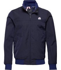seasonal harrington jacket tunn jacka blå scotch & soda