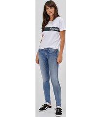 jeans luz hyperflex skinny