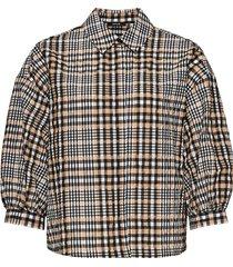 opus geruite blouse fegi