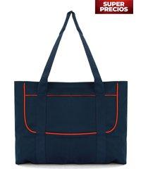 maletín complementario azul-rojo colore