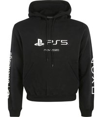 balenciaga ps5 print fitted hoodie