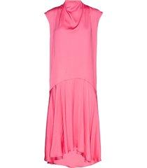 scence korte jurk roze tiger of sweden