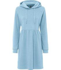 abito in felpa con cappuccio (blu) - rainbow