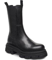 mega chuncky elastic shoes chelsea boots svart apair