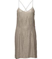 stevey cami dress korte jurk beige hunkydory