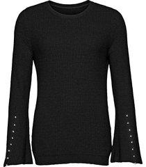 maglione con maniche a campana (nero) - bodyflirt