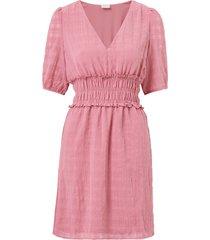 klänning vialison v-neck s/s dress
