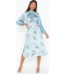 closet high neck long sleeve dress festklänningar