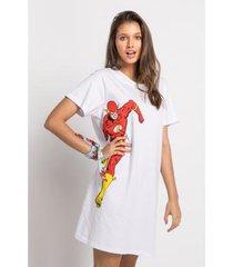 camisola manga curta meia malha - the flash acuo feminina