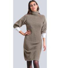 jurk alba moda taupe