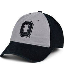 top of the world ohio state buckeyes letterman easy-fit cap