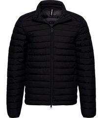 beret jacket man gevoerd jack zwart ecoalf