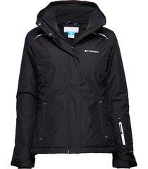 on the slope jacket outerwear sport jackets svart columbia
