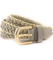 cinturón gris almacén de parís