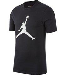 camiseta nike jordan jumpman dri-fit para hombre - negro