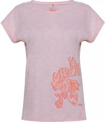 polera mujer flower cotton t-shirt damasco lippi