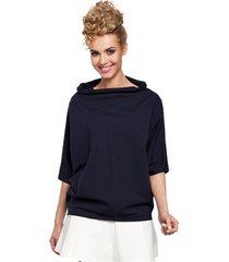 blouse style s127 wikkel kokerrok - groen