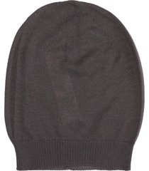 rick owens hat hats in taupe cashmere