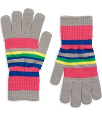 women's nordstrom knit gloves, size one size - pink