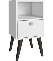 mesa de cabeceira palito 1 gaveta bpp 111-129 branco