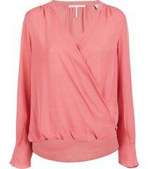 roze dames blouse maison scotch - 149764