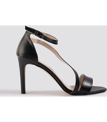 trendyol kadin high heels - black
