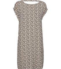 dress t-shir kort klänning grå tom tailor