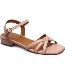 sandals 4025 shoes summer shoes flat sandals beige billi bi