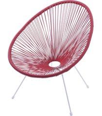 cadeira acapulco - vermelha