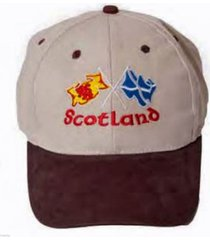 scotland stone cross flags baseball cap