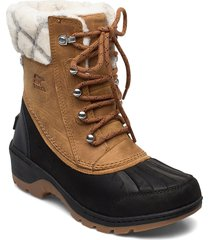 whistler™ mid shoes sport shoes outdoor/hiking shoes ankle boot - heel brun sorel