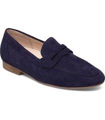 sport trotteur loafers låga skor blå gabor