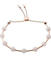 skagen women's anette quartz beaded bracelet