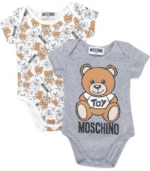 moschino romper set with toy press