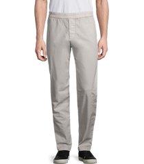james perse men's stretch-cotton work pants - salt - size 1 (s)