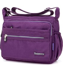 nylon crossbody leggero impermeabile borsa per le donne