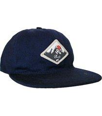 gorra azul buxter snapback blezer