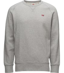 original hm icon crew medium g sweat-shirt trui grijs levi´s men