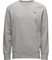 original hm icon crew medium g sweat-shirt trui grijs levi´s men