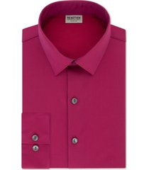 kenneth cole reaction men's slim-fit all day flex solid dress shirt