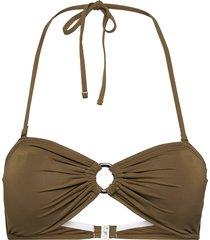pcgroa bikini bandeau sww bikinitop brun pieces