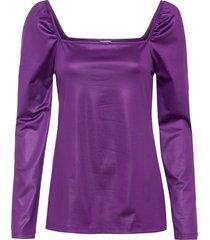 maglia con scollo quadrato (viola) - bodyflirt