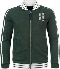 common heroes groen sweat vest voor jongens in de kleur