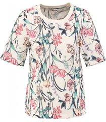 garcia stevig glad polyester shirt off white